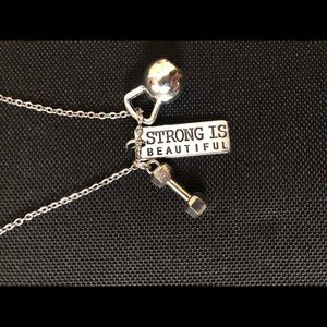 Jewelry - Strong Is Beautiful necklace